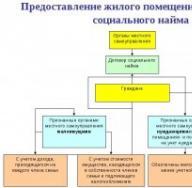 Типовой договор социального найма жилого помещения